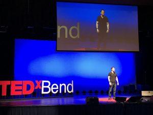 TEDx rehearsal