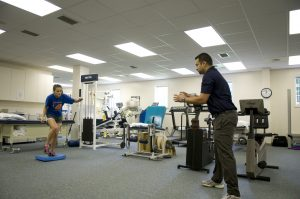 Soccer injury rehab