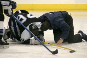 Hockey injury