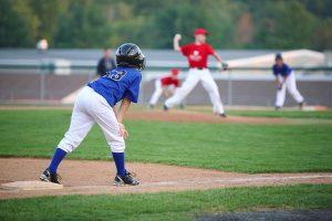 Youth boy baseball