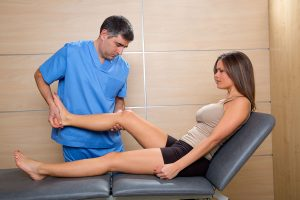 How can you get your knee straight after ACL surgery?