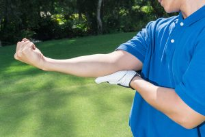 People other than golfers can have golfer's elbow pain.
