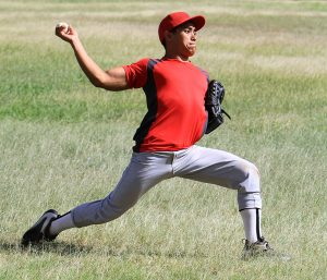 Pitching and throwing can cause a flexor pronator strain