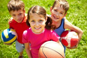 Sports are a great way to help get kids more active