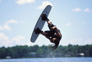 Tips to prevent injuries in water sports, like wakeboarding