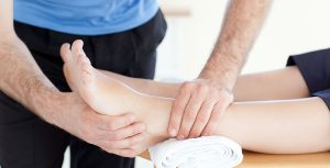 A physician can detect peroneal tendon subluxation by physical exam.