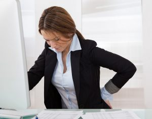 Make efforts to sit less at work each day