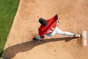 A flexor pronator strain is a common injury among baseball pitchers.