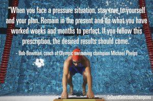 Bob Bowman on facing pressure