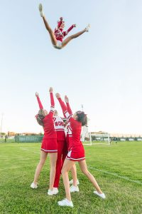 Banning the basket toss on hard surfaces has dramatically decreased catastrophic cheerleading injuries
