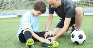 Soccer injury: Six of the most common injuries soccer