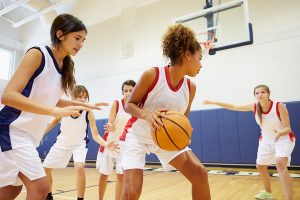 Basketball and other sports are important for kids