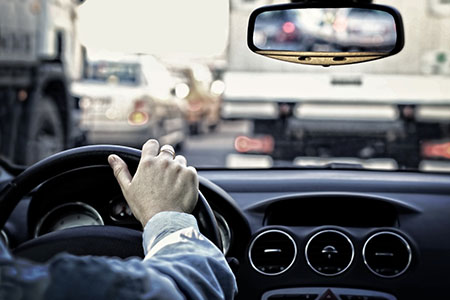 When is it safe to drive after a foot or ankle injury?